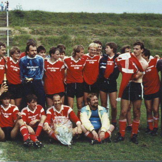 Aufstieg Kreisliga A 1987