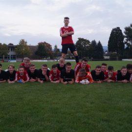U17 Junioren Meister der Bezirksliga 2017/18