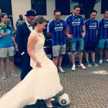 Hochzeit von Martina und Dennis am 03.06.2017