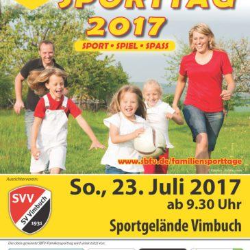 Familien-Sporttag am Sportfest