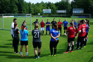 Trainingsauftakt der Damen 1 + 2