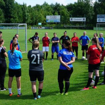Trainingsauftakt der Damen 1 + 2