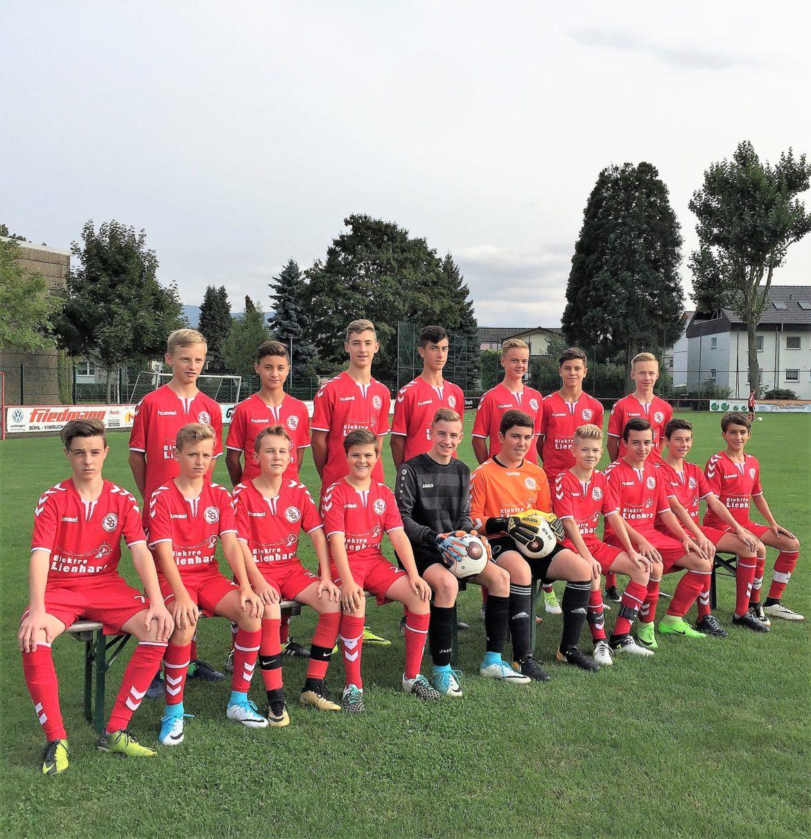 C1-Junioren: Derbysieg gegen den VfB Bühl