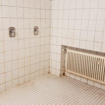 Sanierung der Duschen