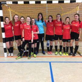 C-Mädchen gewinnen Hallenbezirksmeisterschaft!