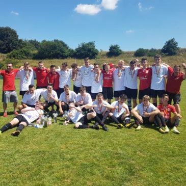 U17 Junioren Meister der Bezirksliga und Bezirkspokalsieger 2017/18